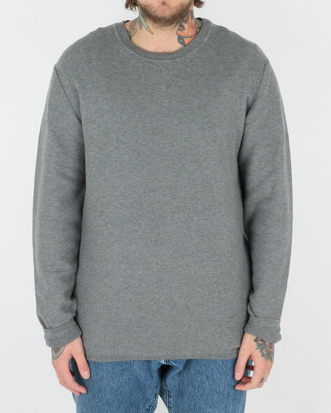 wac we are copenhagen_marcin sweatshirt knit_light grey_view_1_2