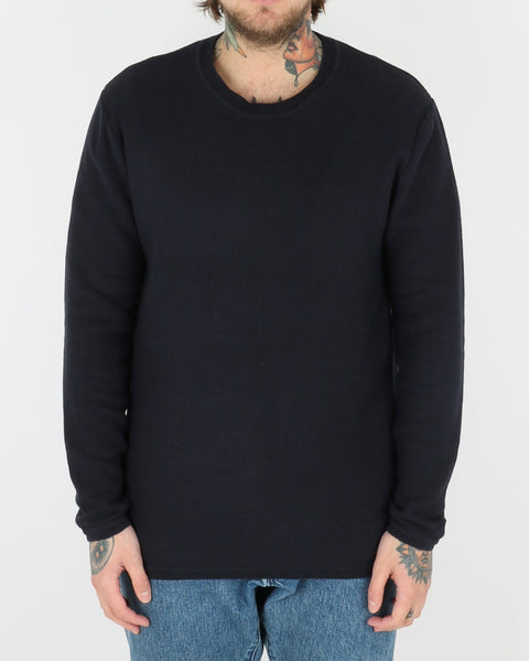 wac we are copenhagen_marcin sweatshirt knit_navy_view_1_2
