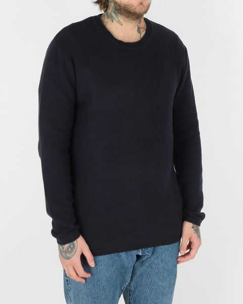 wac we are copenhagen_marcin sweatshirt knit_navy_view_2_2