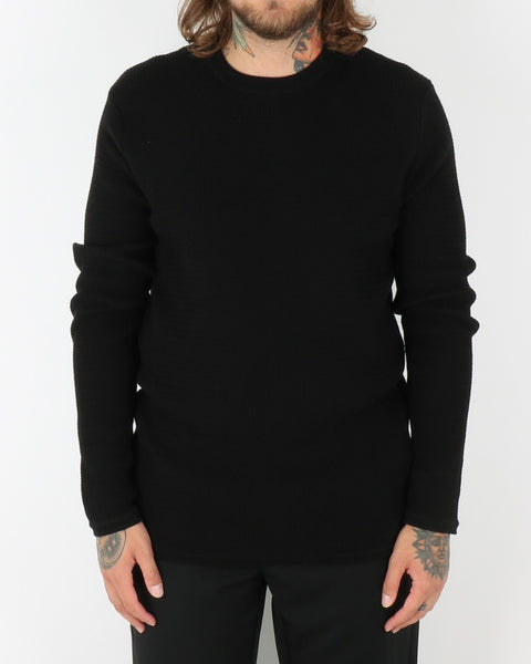 wac_wearecph_albiol_o-neck knit_black_view_1_1