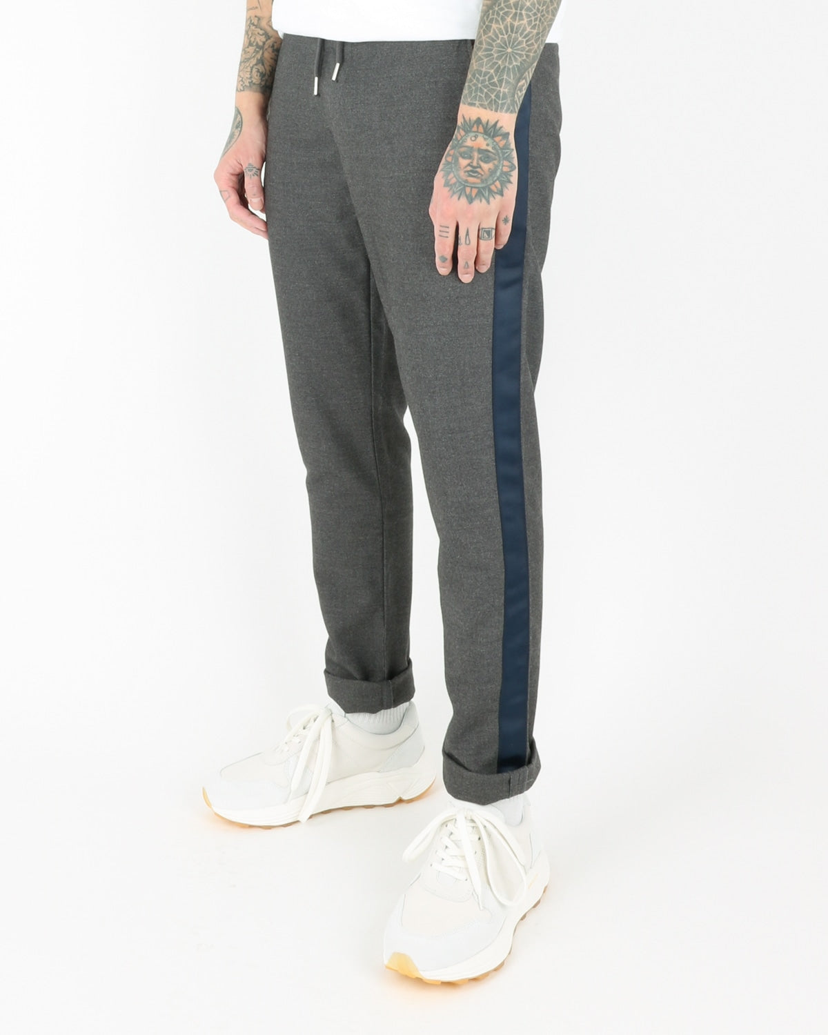 we are copenhagen_janzik tape pants_dark grey melange_view_2_3