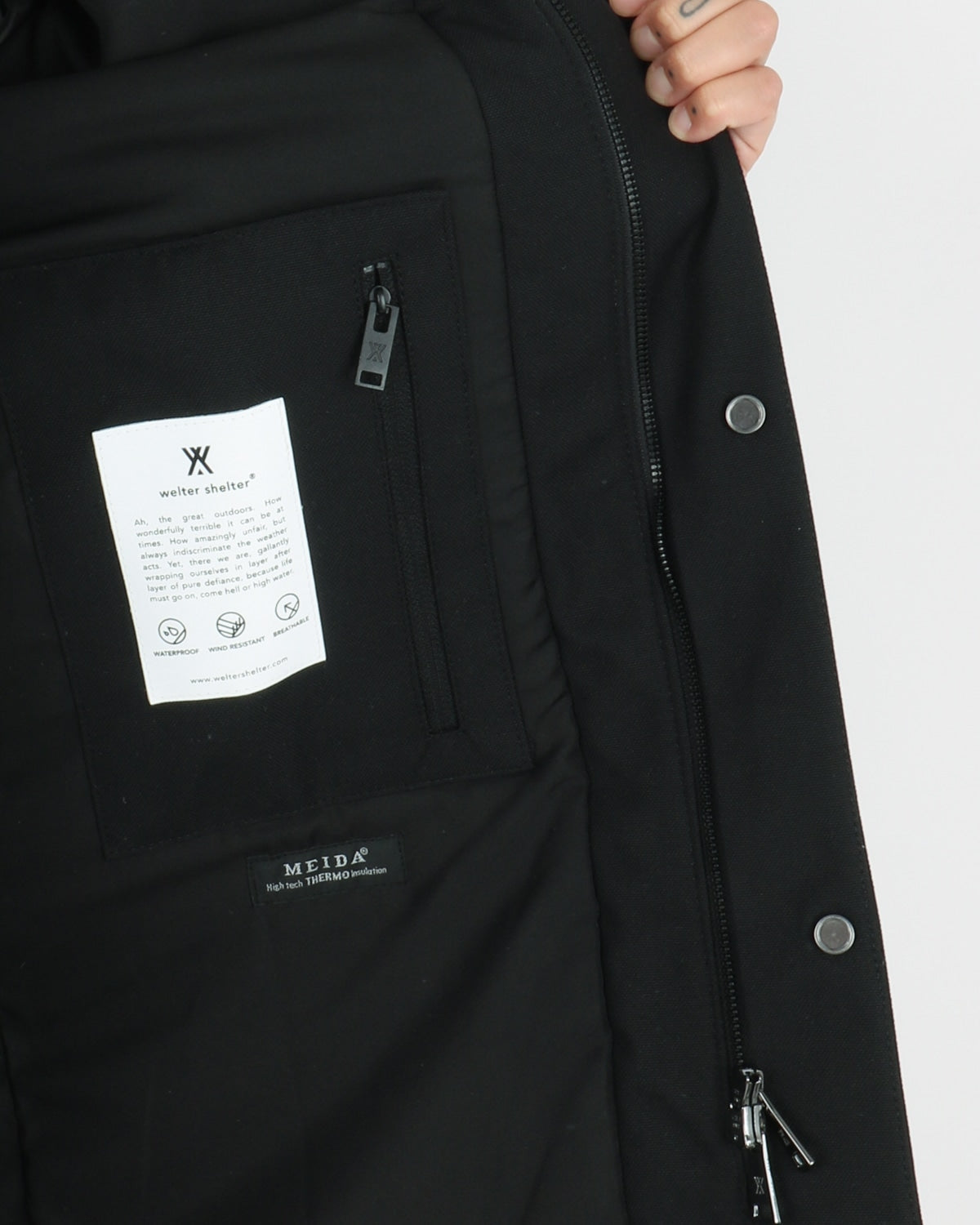 welter shelter_hooded parka_black_view_2_4
