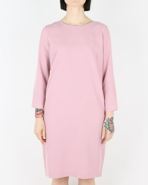 whyred_cilla dress_milk berry_view_1_3