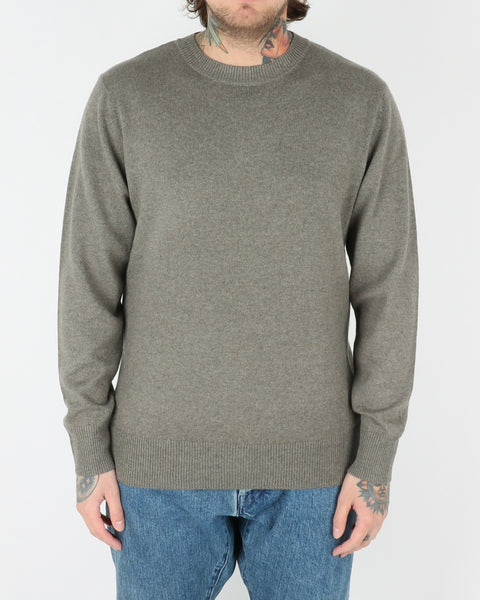 whyred_coil clean_sweatshirt_dusty green_view_1_2