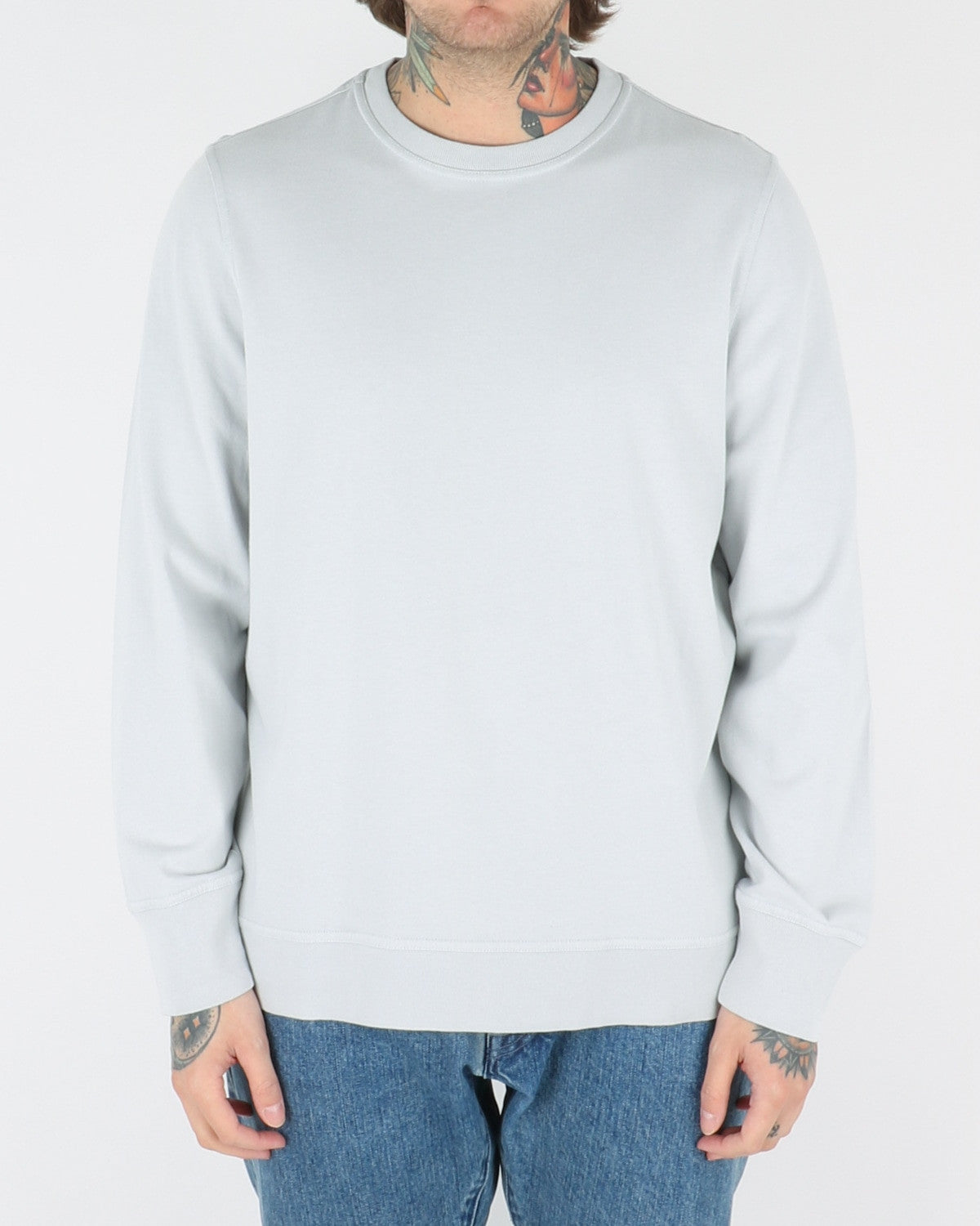 whyred_murry lightweight sweatshirt_vapor blue_view_1_2