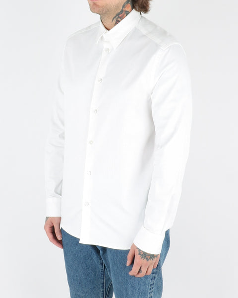 whyred_stone twill shirt_offwhite_view_2_2