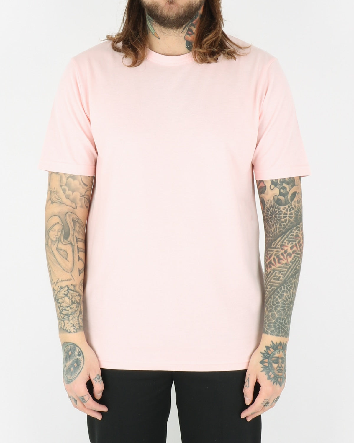 wood wood_ale t-shirt_light pink_view_1_3