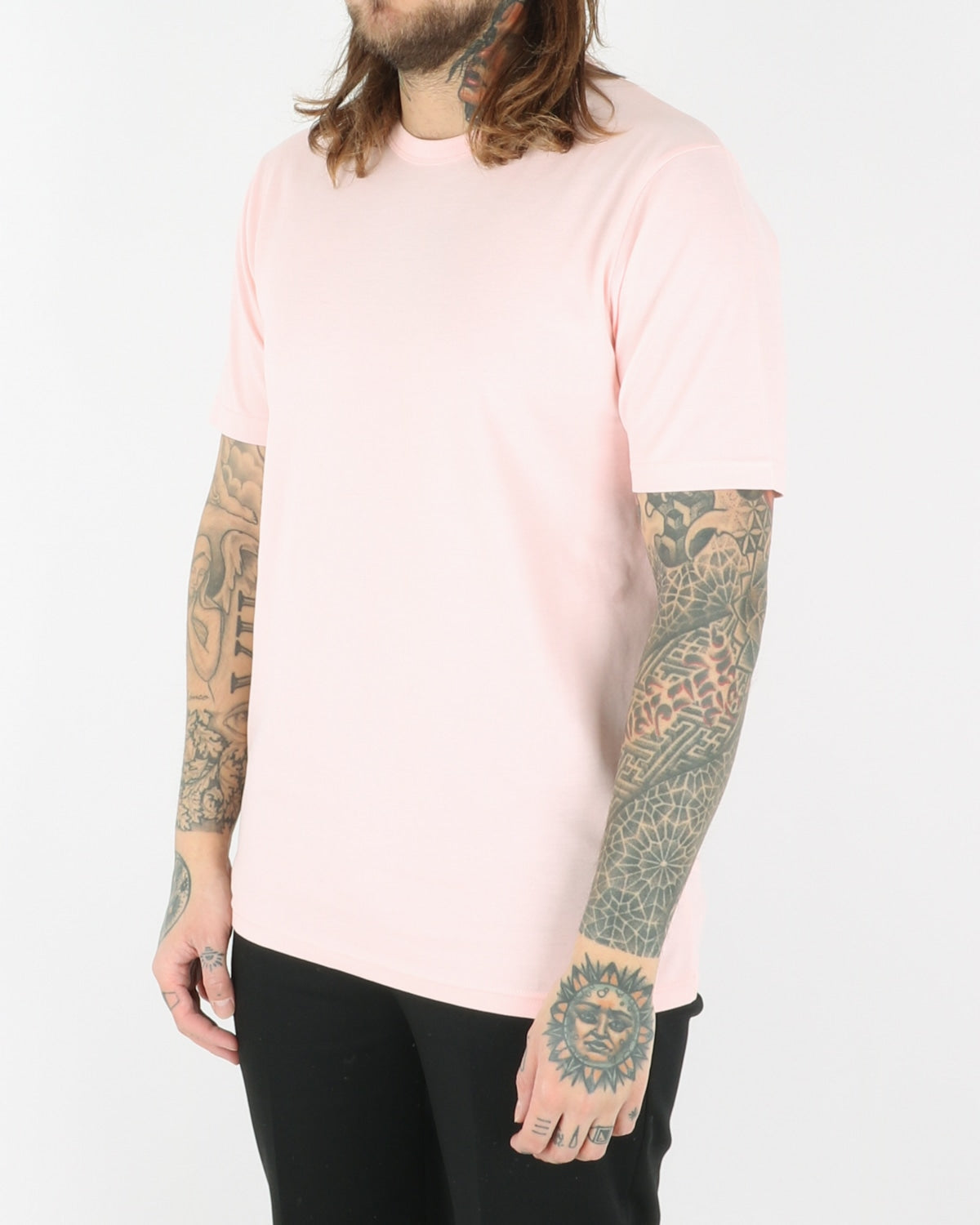 wood wood_ale t-shirt_light pink_view_2_3