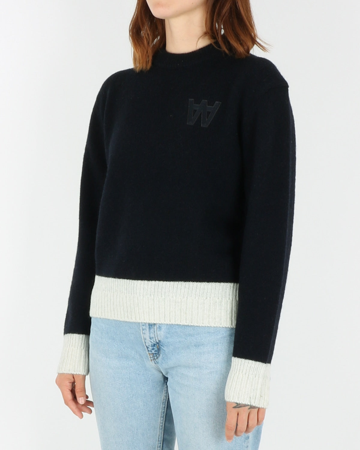 wood wood_anneli sweater_navy_view_2_3