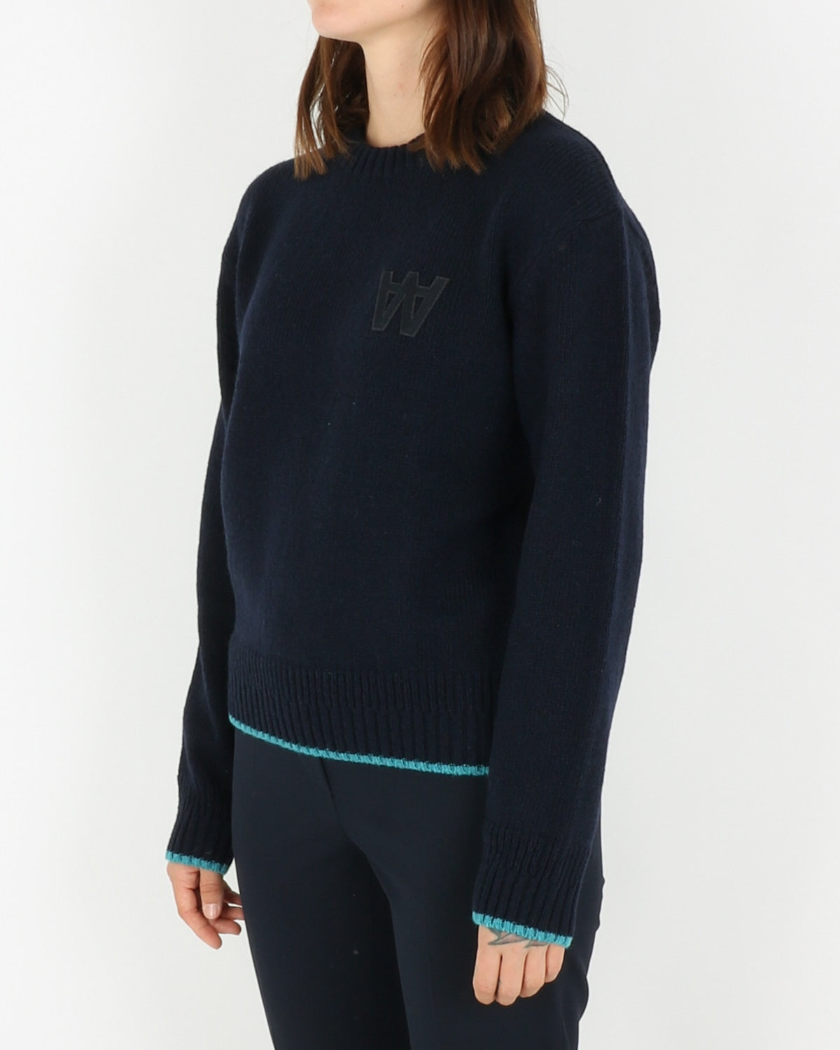 wood wood_anneli sweater_navy_view_2_4