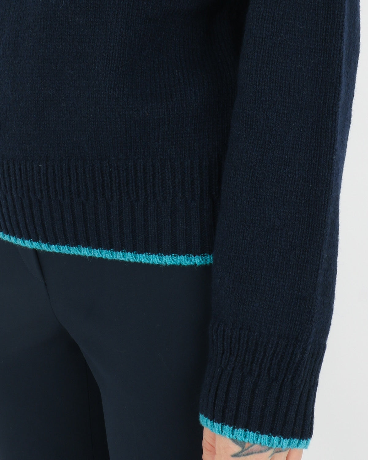 wood wood_anneli sweater_navy_view_4_4