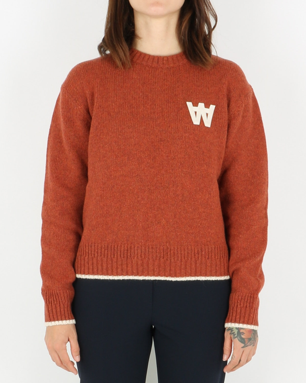 wood wood_anneli sweater_rust_view_1_4