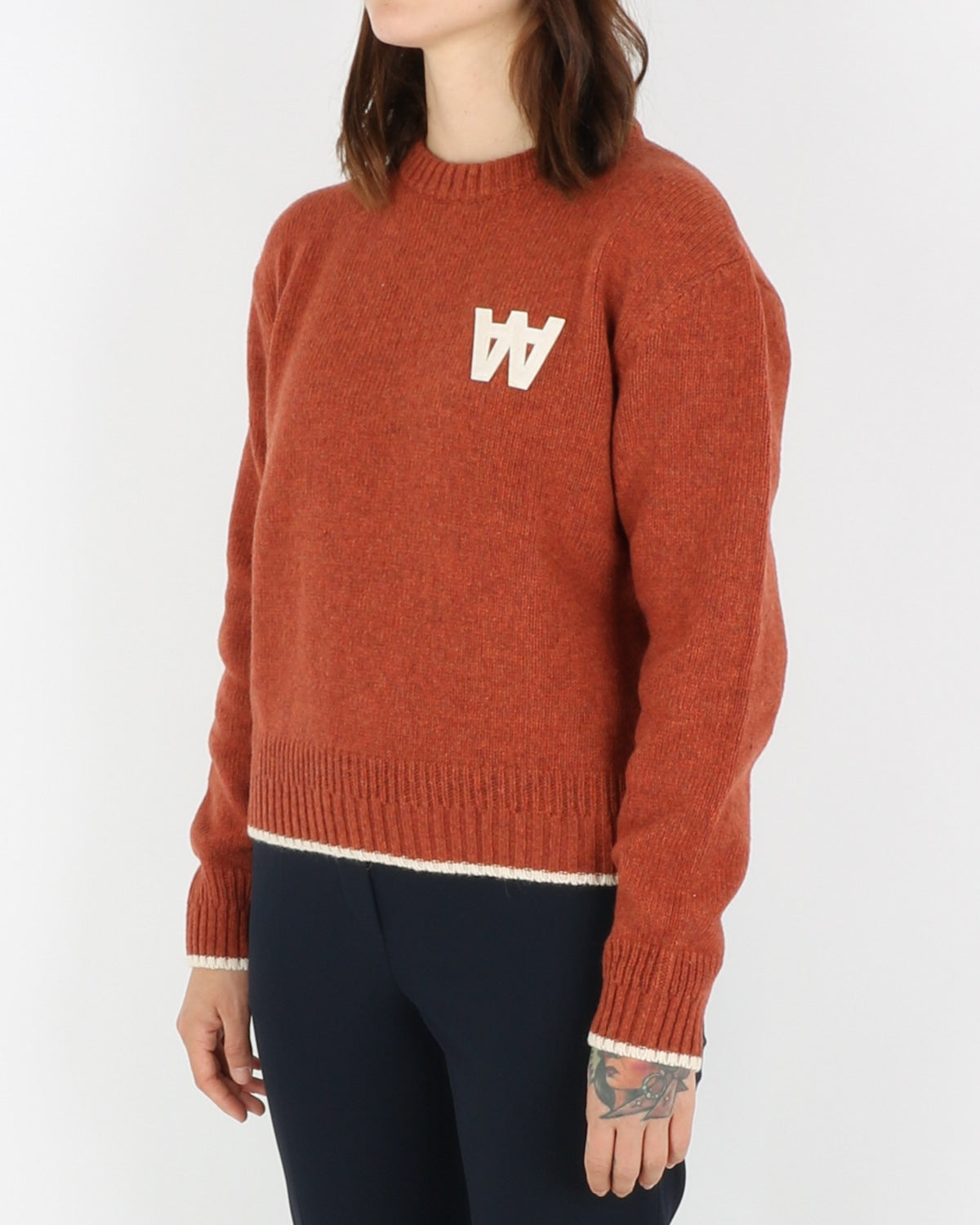 wood wood_anneli sweater_rust_view_2_4