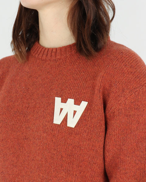 wood wood_anneli sweater_rust_view_3_4
