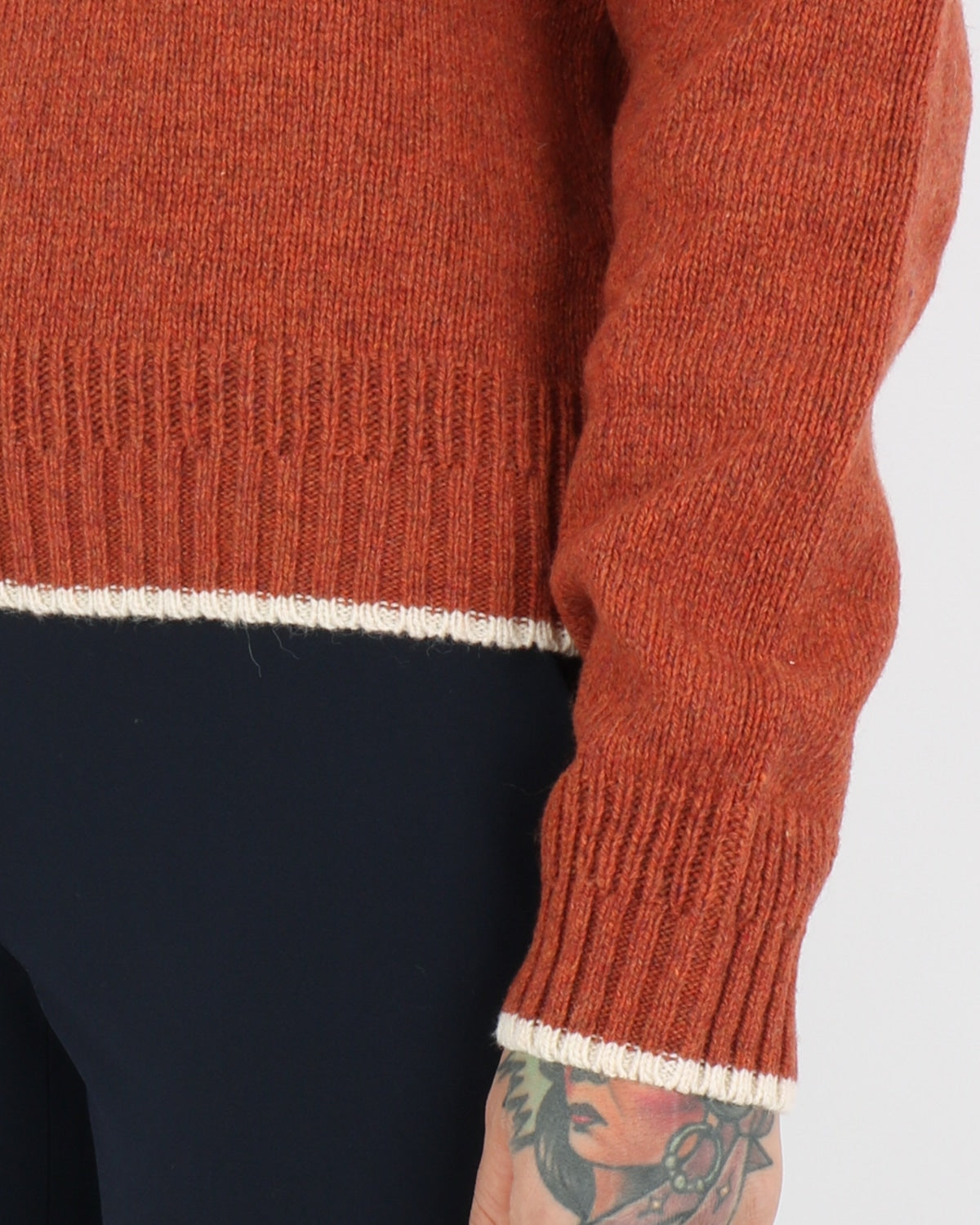 wood wood_anneli sweater_rust_view_4_4