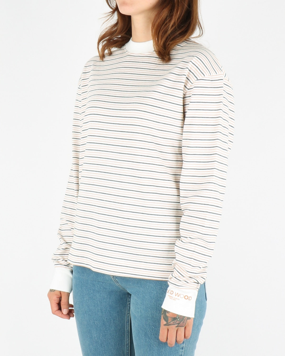 wood wood_astrid longsleeve_off white stripe_4_4