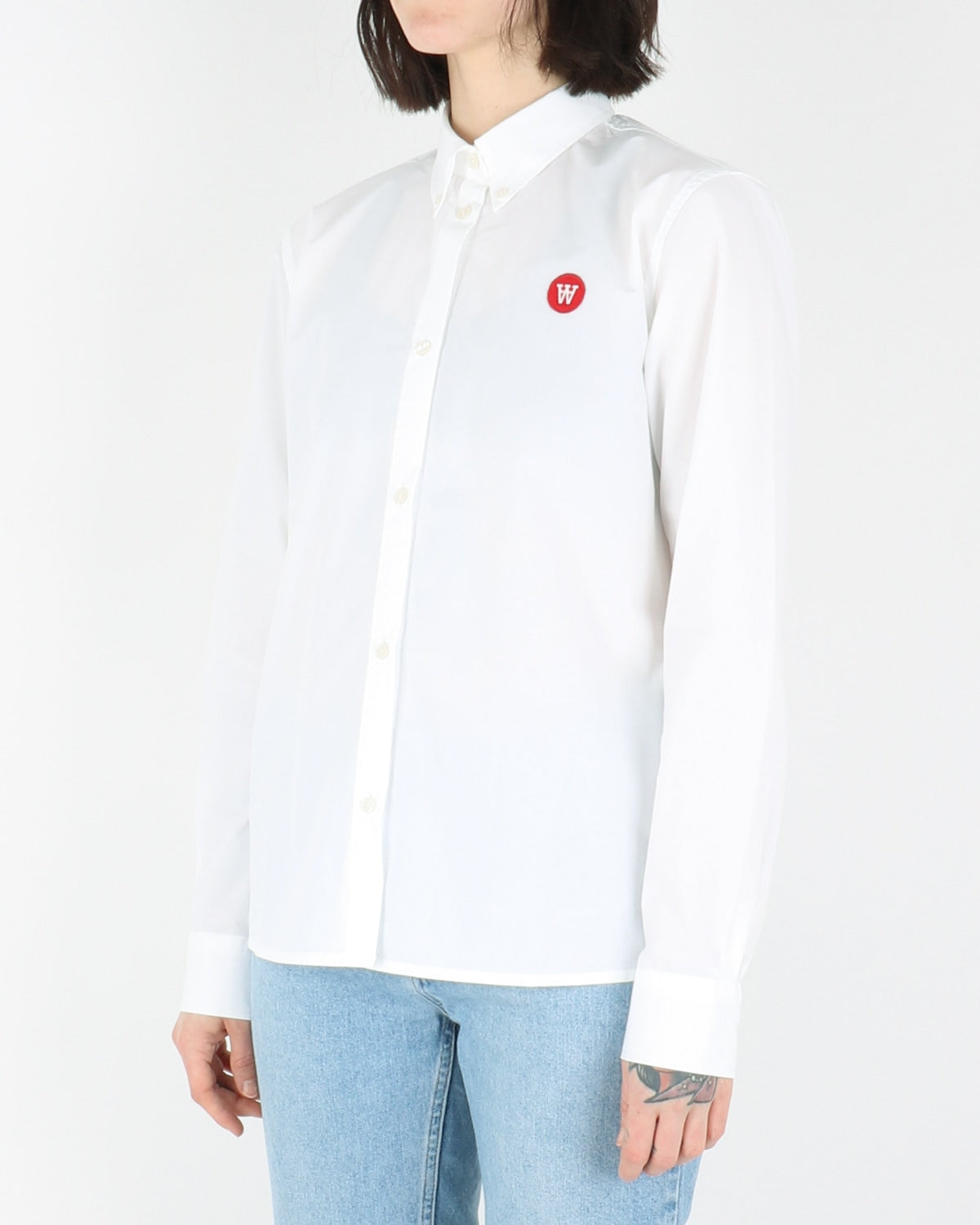 wood wood_fae shirt_bright white_view_2_3