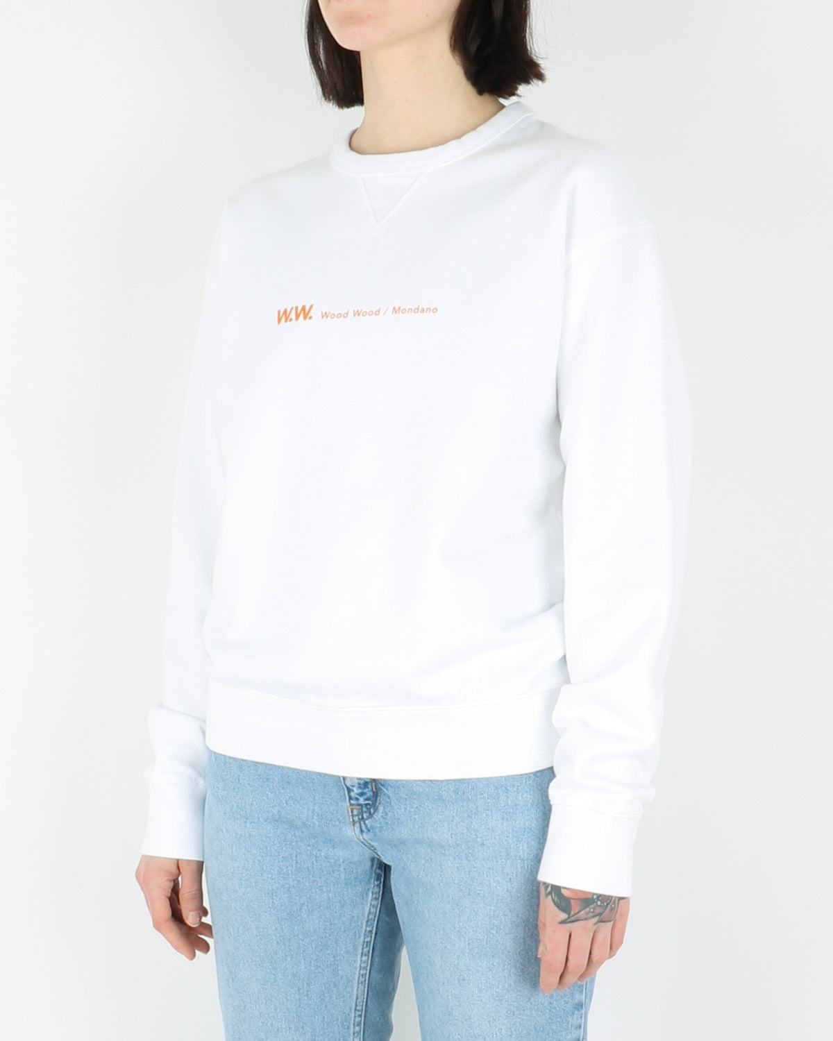 wood wood_flora sweatshirt_bright white_view_2_3