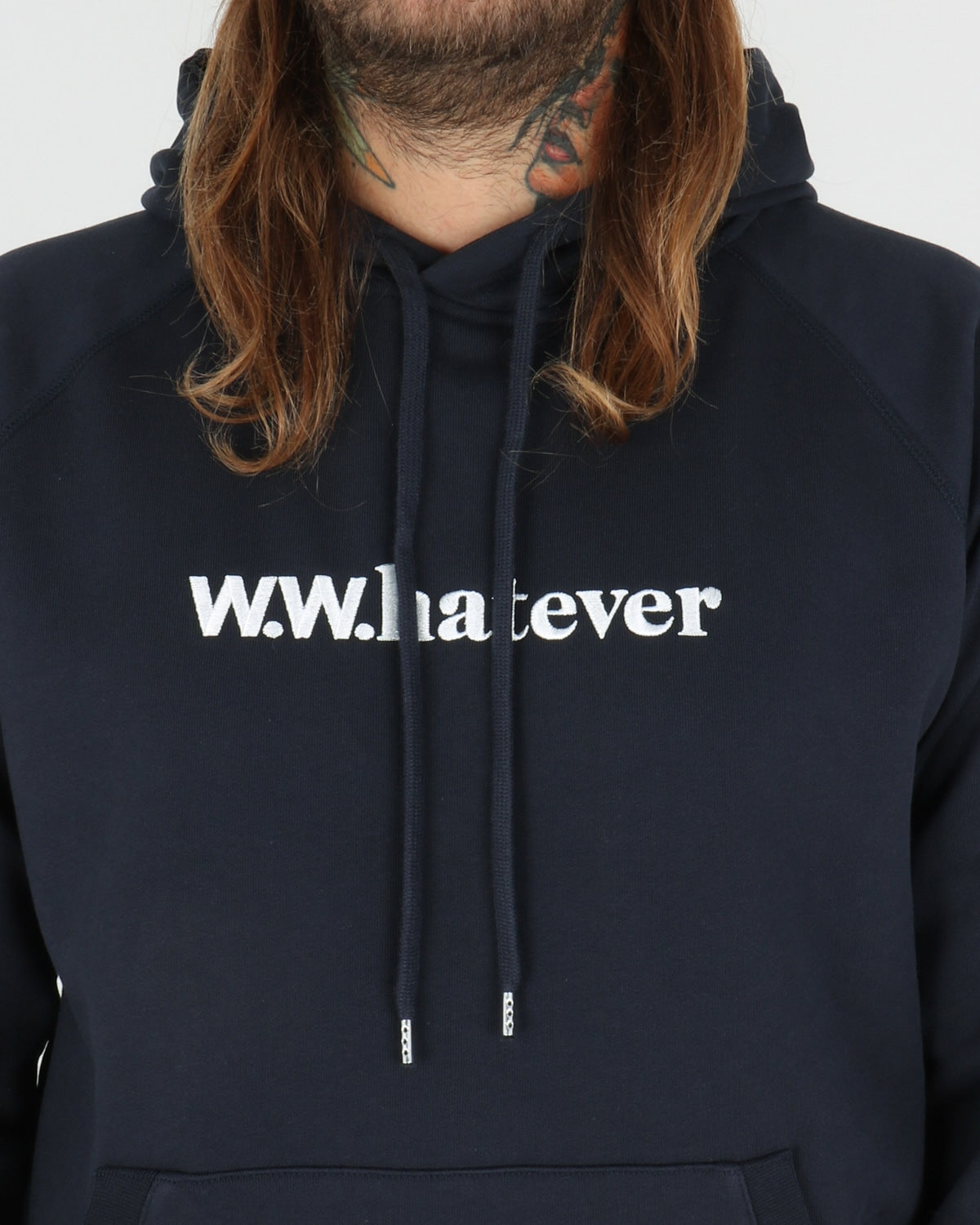 wood wood_fred hoodie_navy_view_3_3