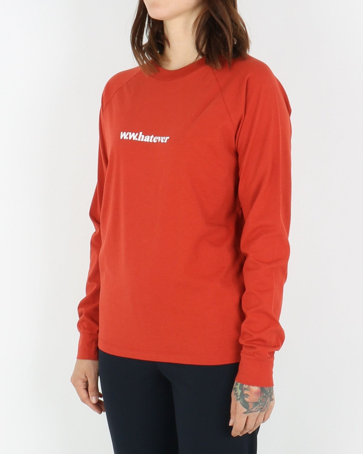 wood wood_halli longsleeve_rust_view_1_3