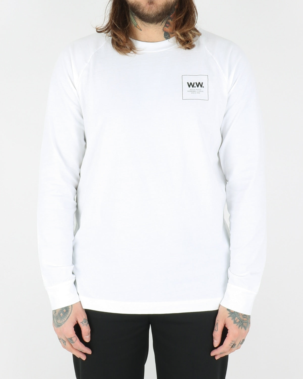 wood wood_han longsleeve_bright white_view_1_3