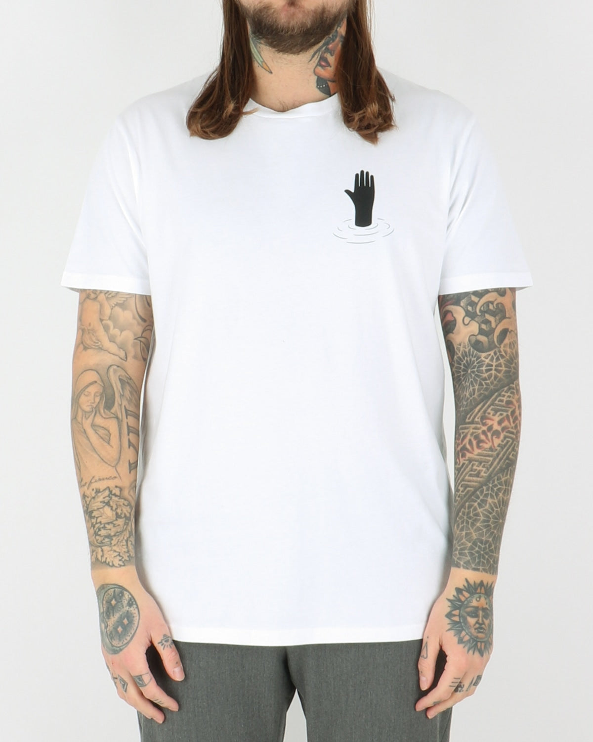 wood wood_hand t-shirt_bright white_1_4