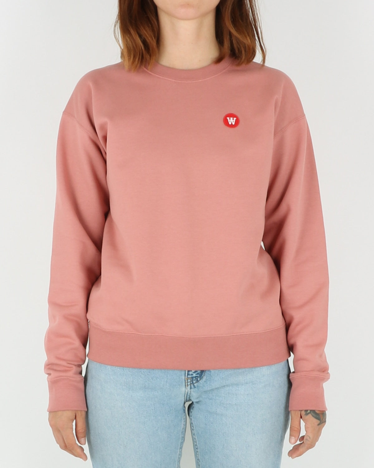 wood wood_jess sweatshirt_dark rose_view_1_3