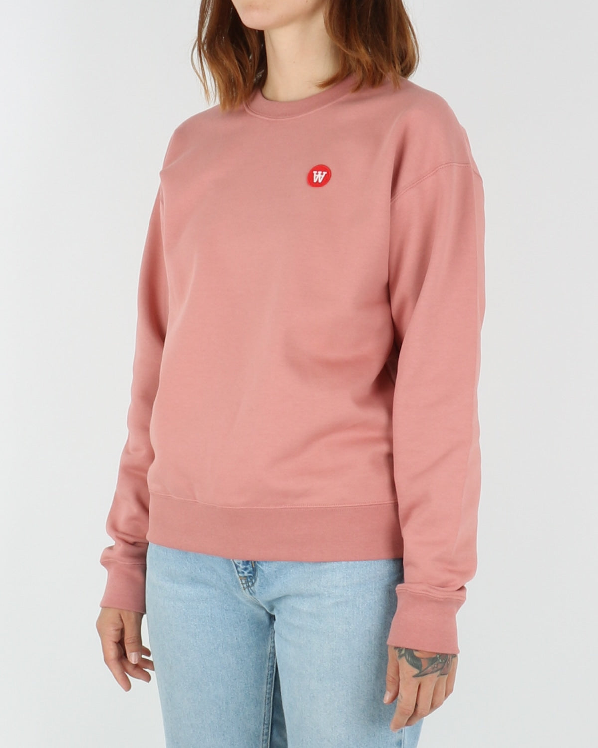 wood wood_jess sweatshirt_dark rose_view_2_3
