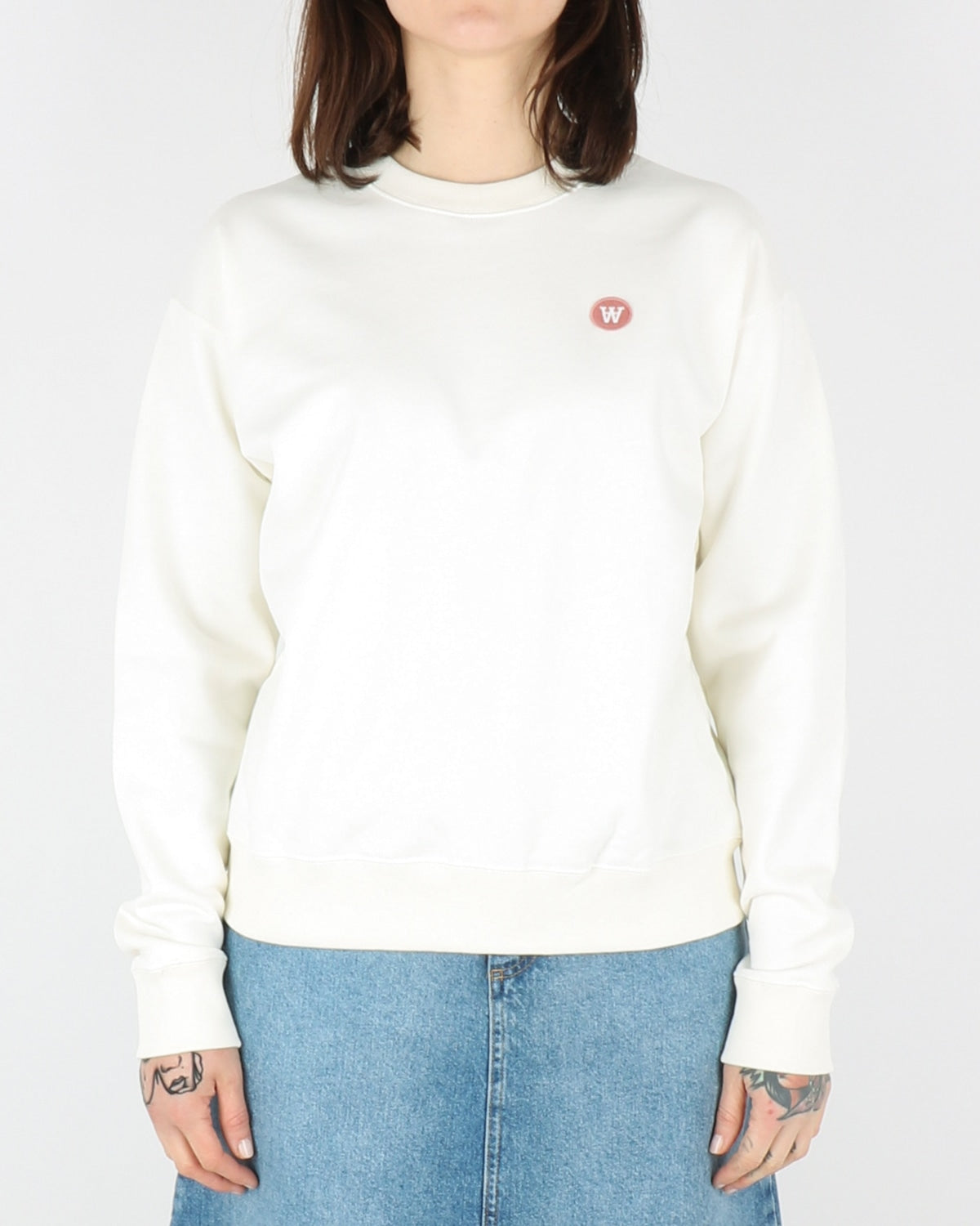 wood wood_jess sweatshirt_offwhite_view_1_3