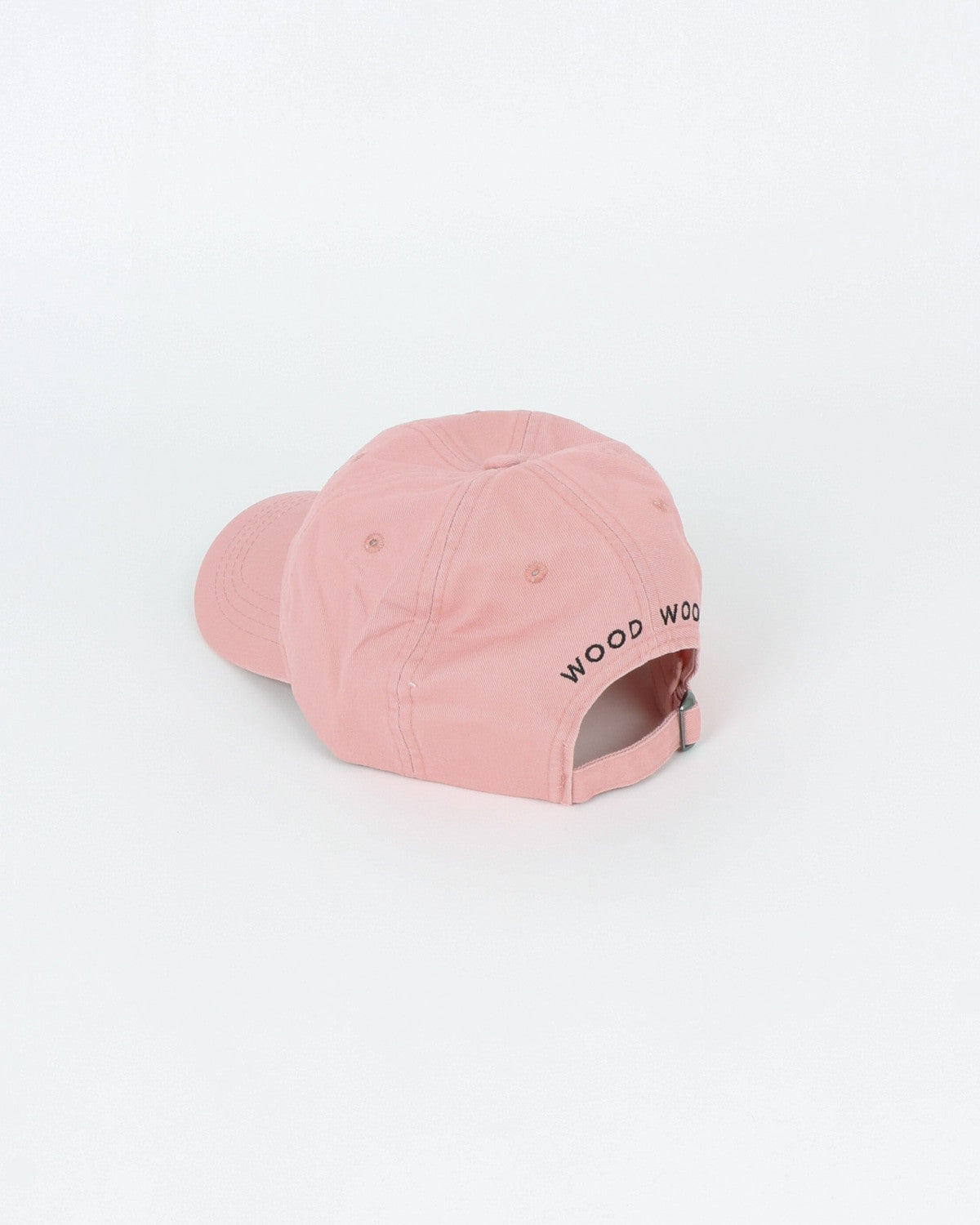 wood wood_low profile cap_teenage poetry_peach beige_view_2_2