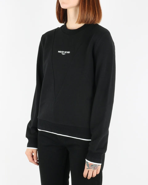 wood wood_mary-ann sweatshirt_black_view_2_3