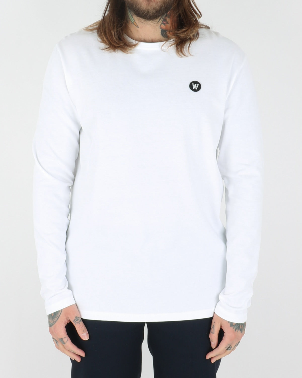 wood wood_mel longsleeve_bright white_view_1_3