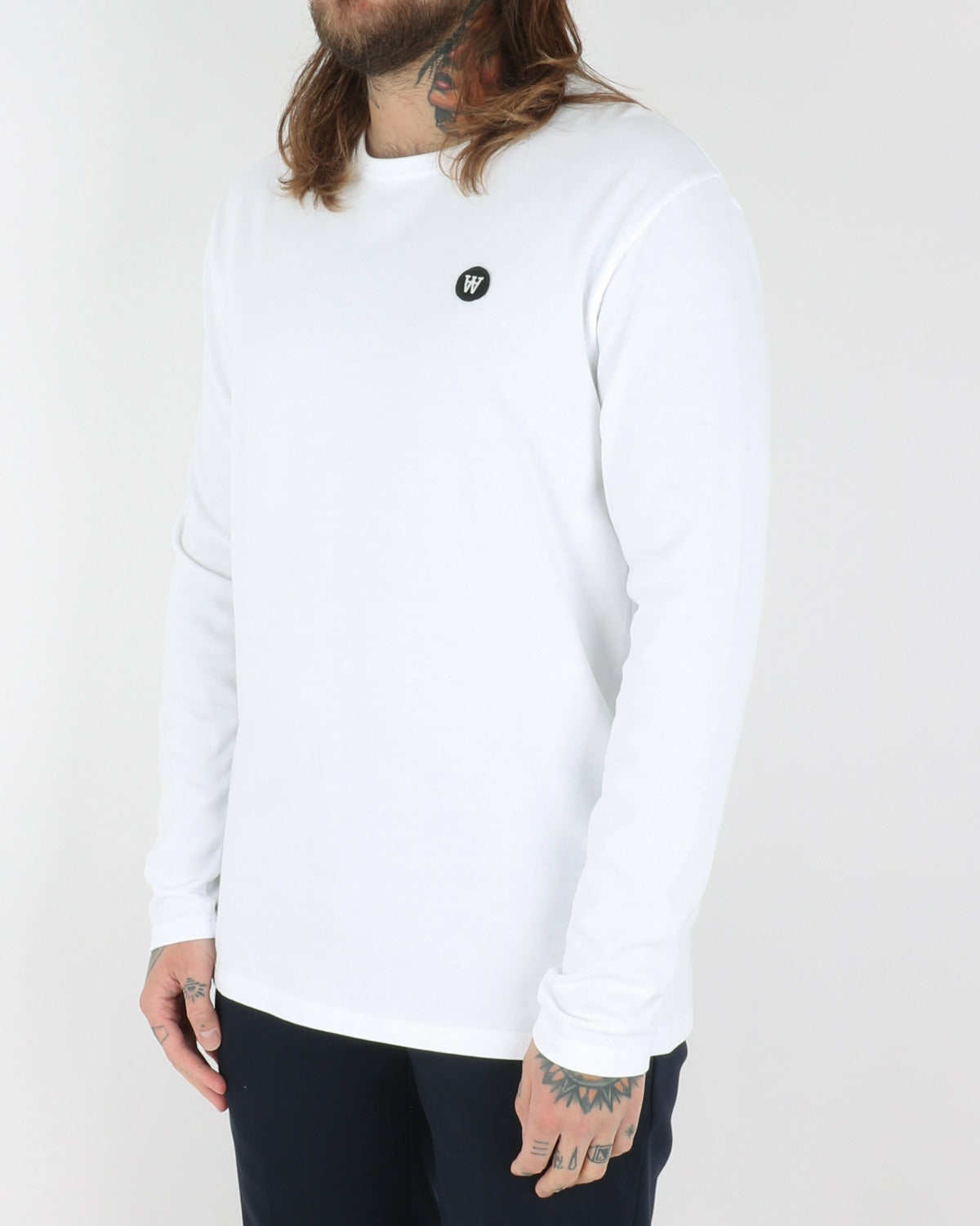 wood wood_mel longsleeve_bright white_view_2_3