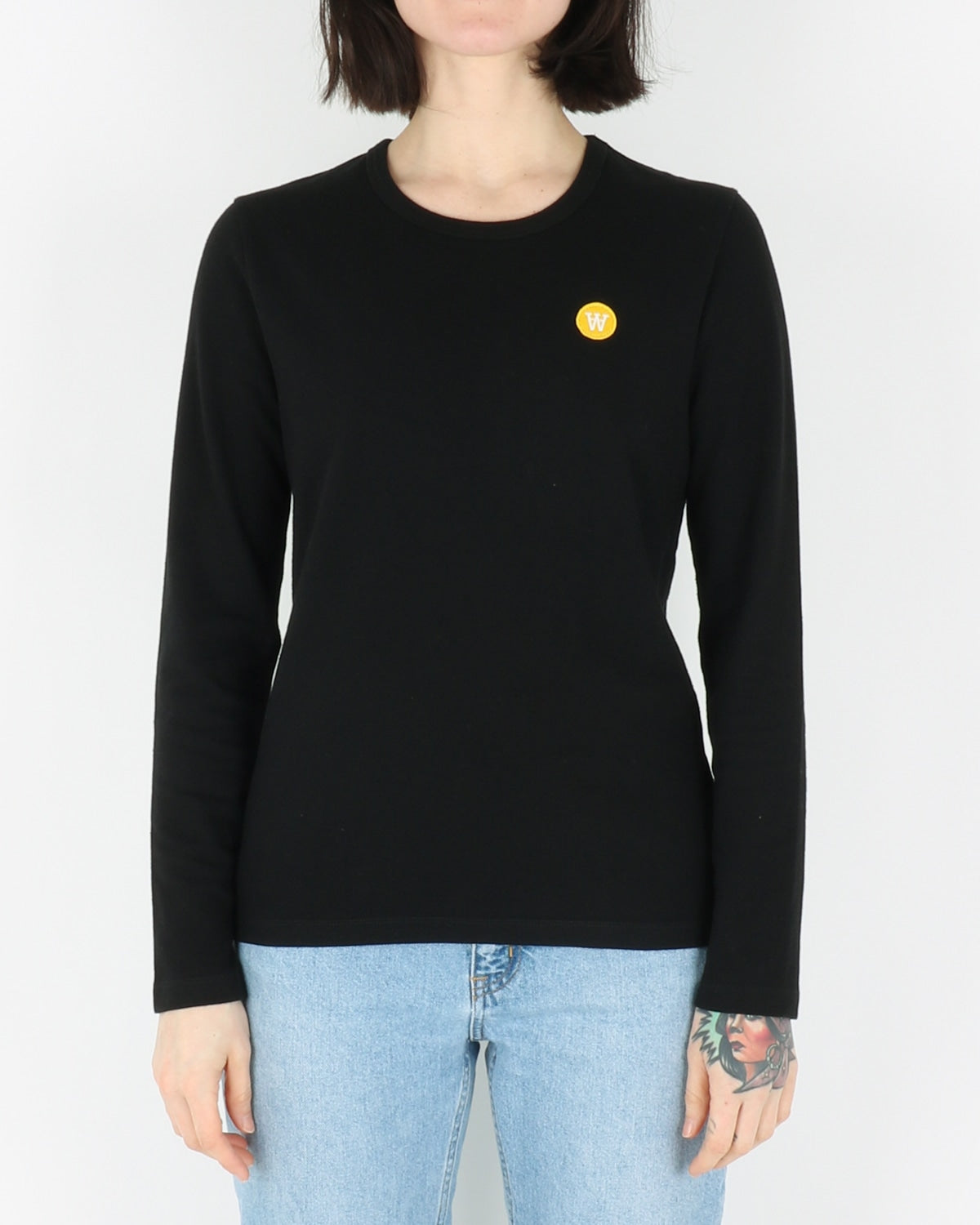Wood Wood Moa Longsleeve, black