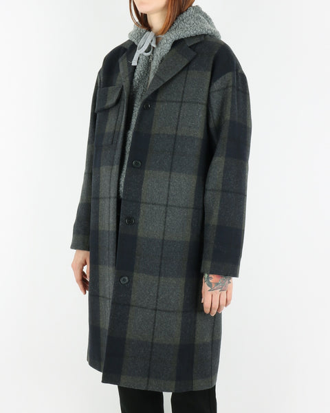 wood wood_molly coat_grey check_view_3_3