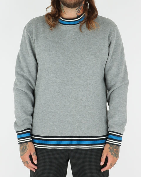 wood wood_nathan sweatshirt_grey melange_view_1_3