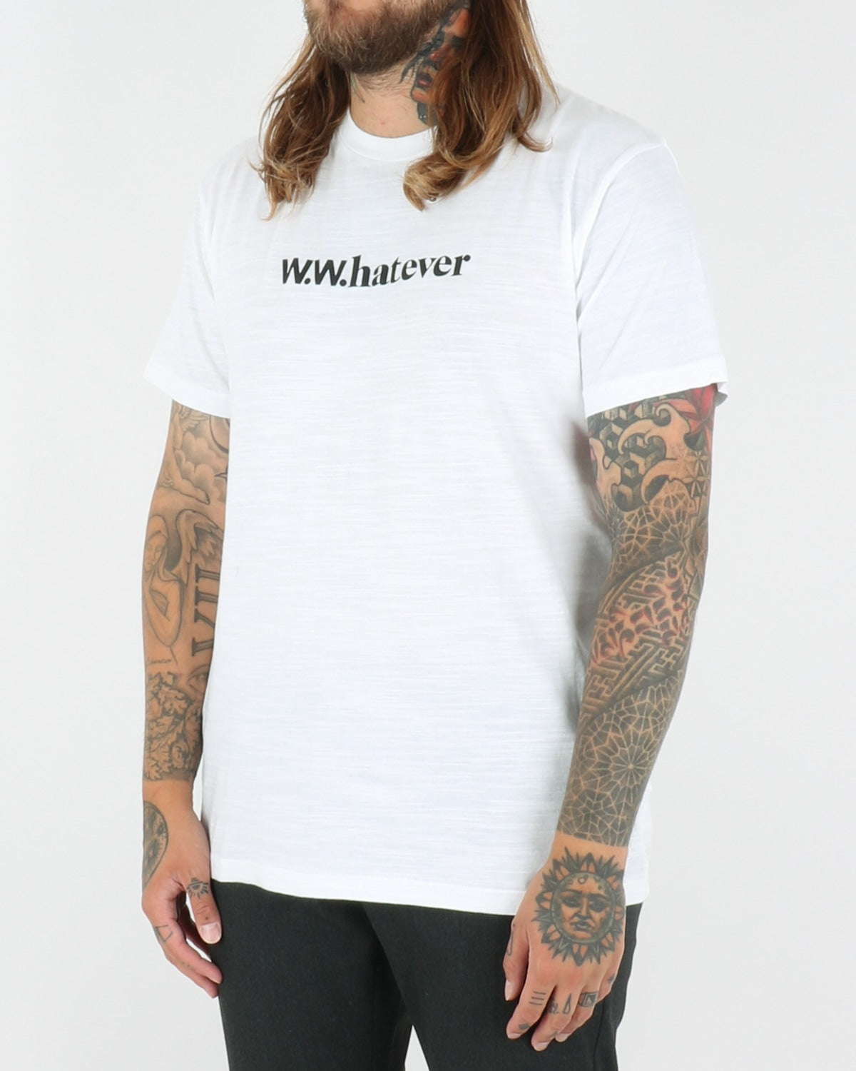 wood wood_perry t-shirt_bright white_view_2_3