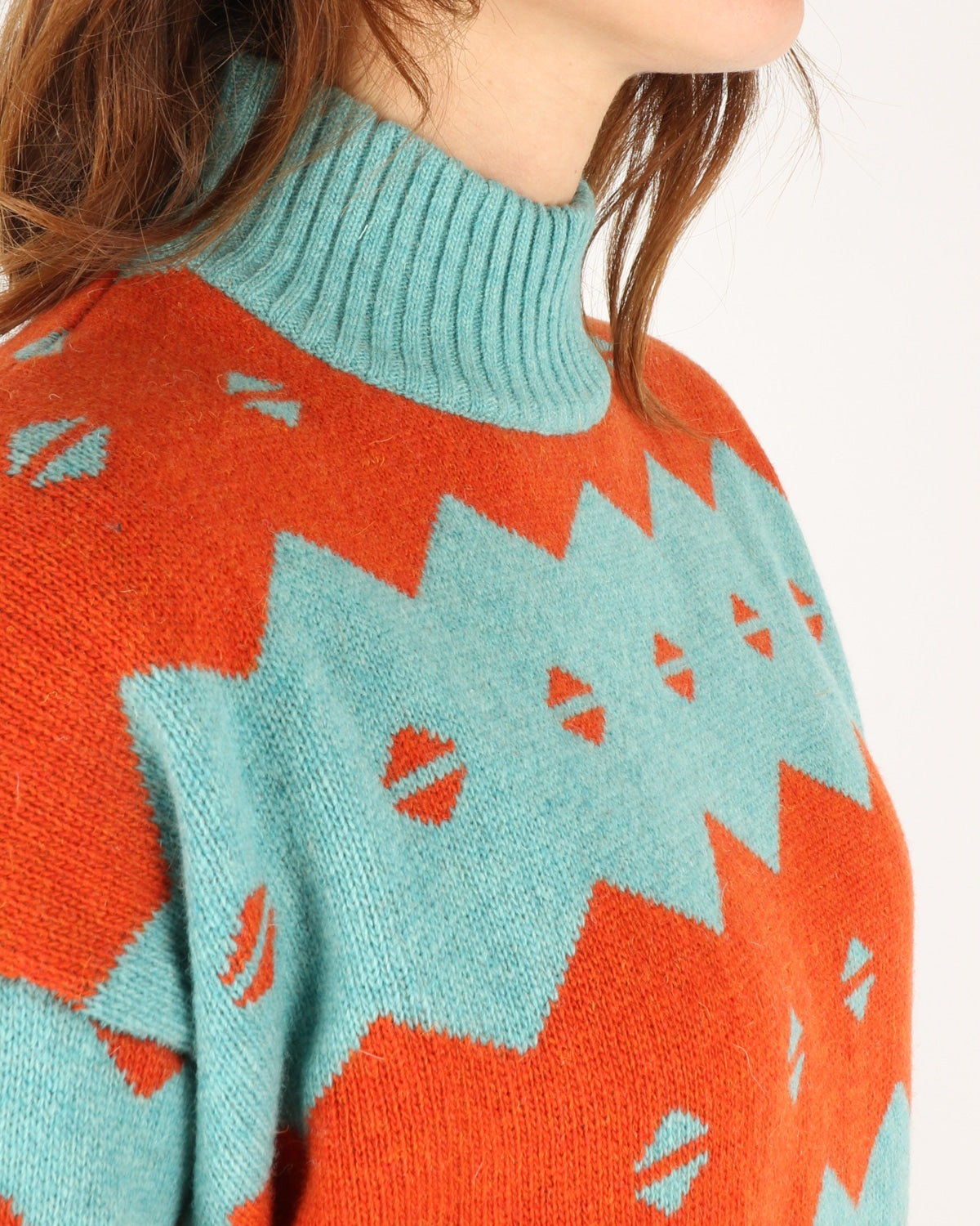 wood wood_sonia sweater_turquoise jaquard_4_4