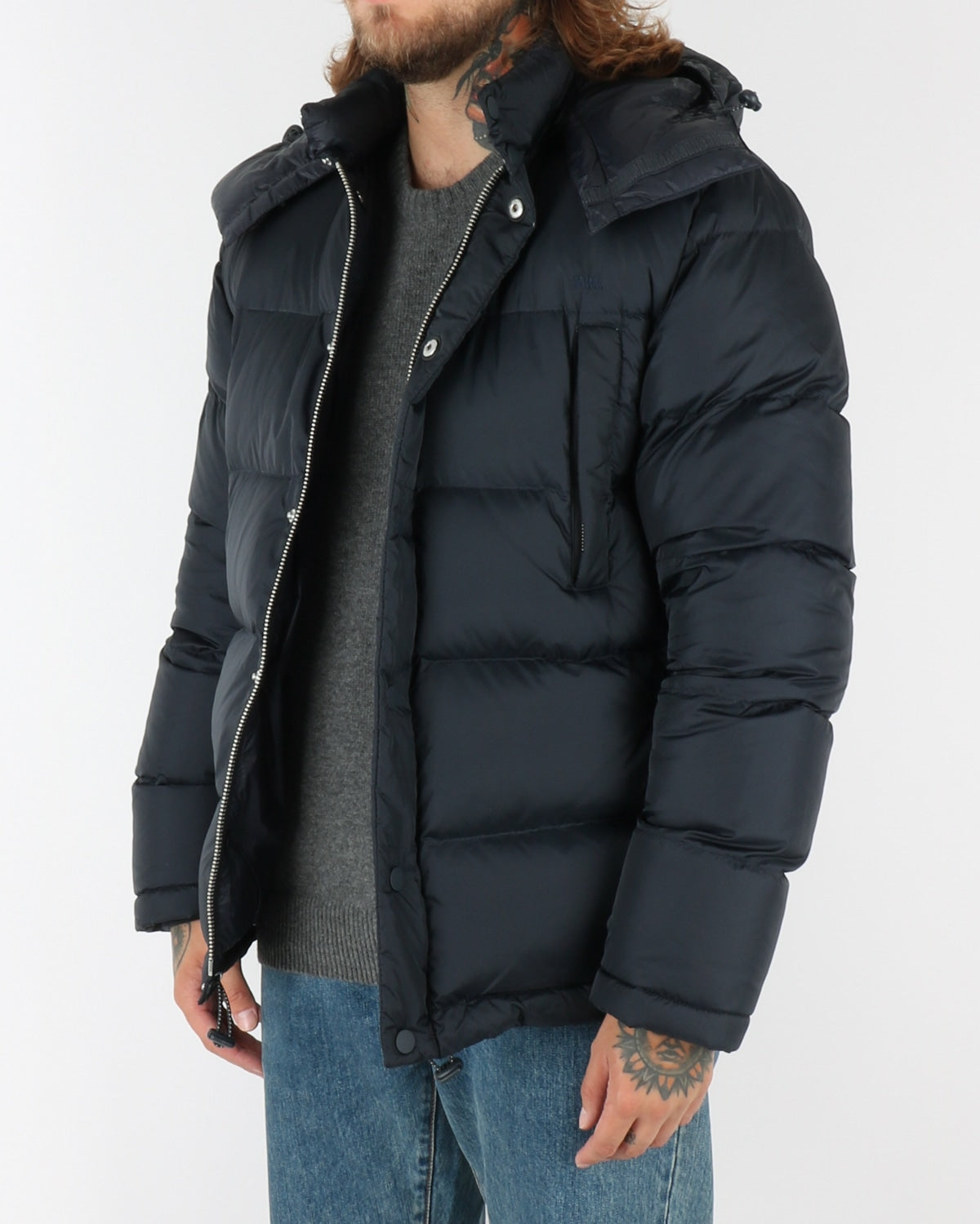 wood wood_tim jacket_navy_view_3_4