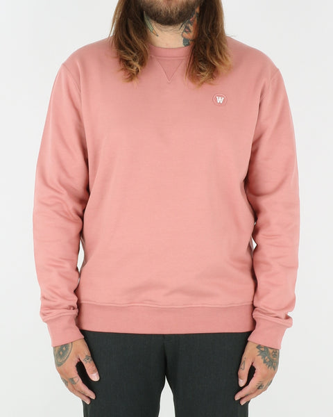 wood wood_tye sweatshirt_dark rose_view_1_3