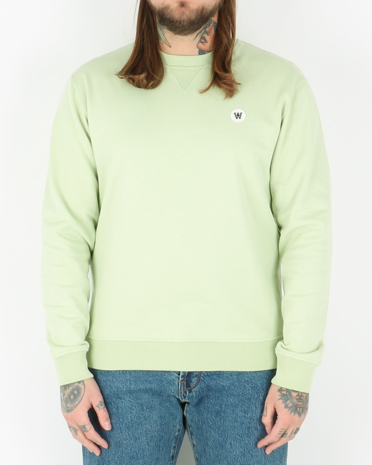wood wood_tye sweatshirt_mint_1_3