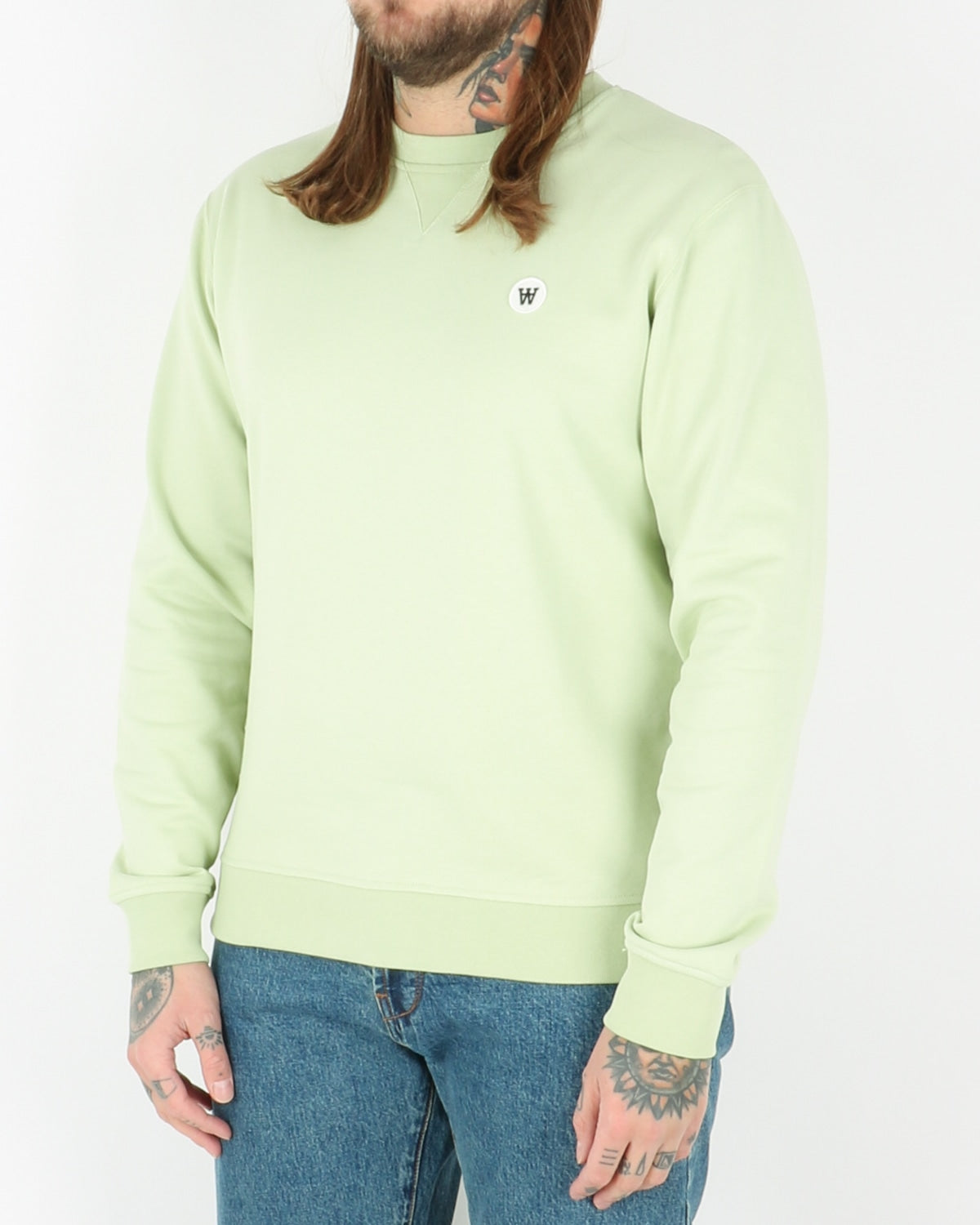 wood wood_tye sweatshirt_mint_2_3