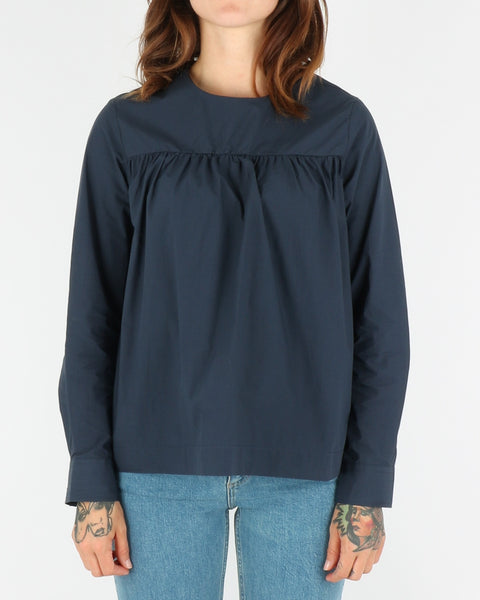 wood wood_vega shirt_navy_1_4
