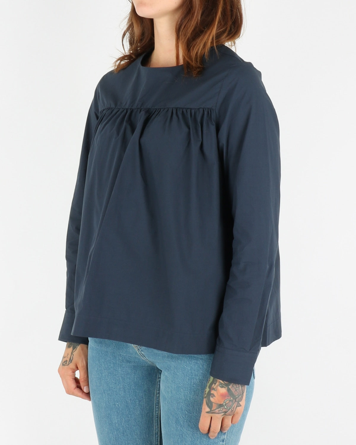 wood wood_vega shirt_navy_2_4
