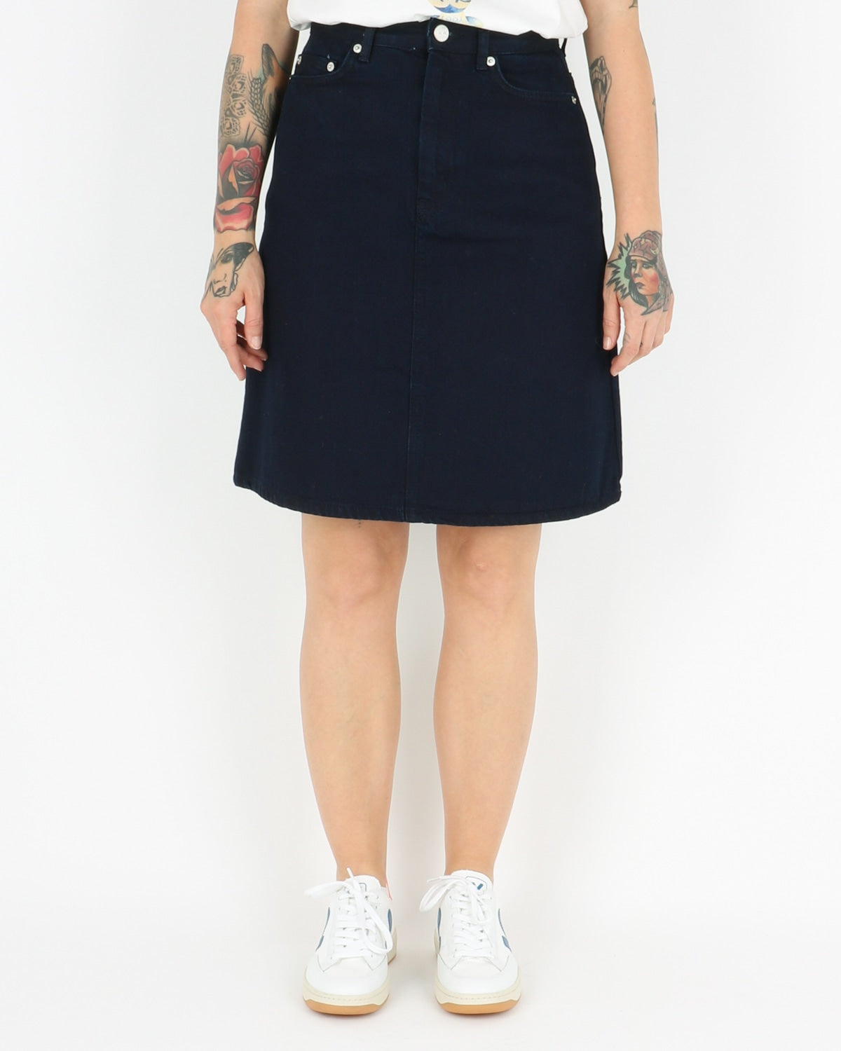 wood wood_ynes skirt_dark rinse_1_5