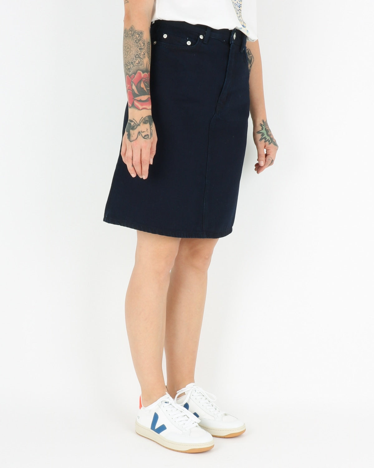 wood wood_ynes skirt_dark rinse_2_5