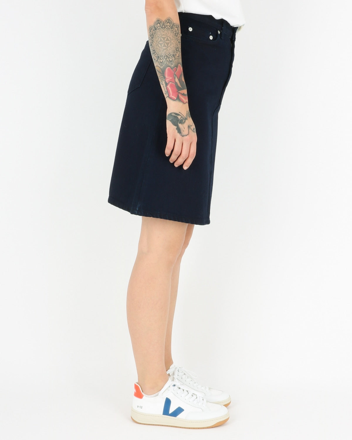 wood wood_ynes skirt_dark rinse_3_5