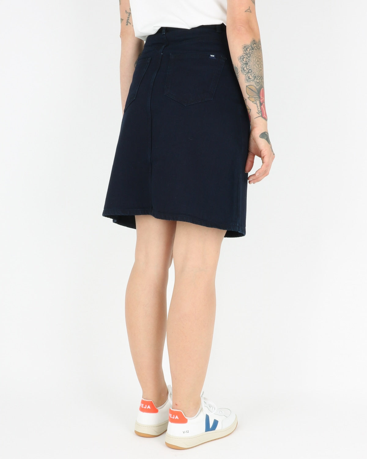 wood wood_ynes skirt_dark rinse_4_5