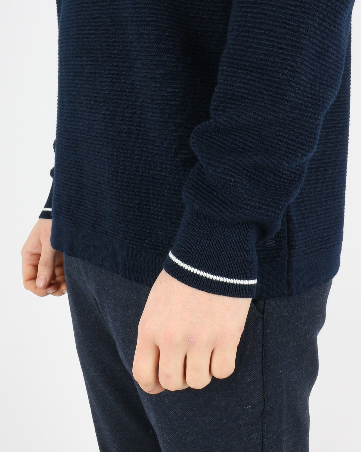 woodbird_craving otto turtle knit_navy_4_4