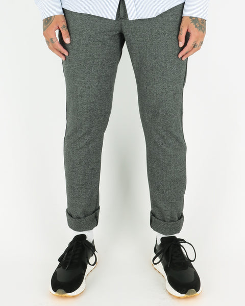 woodbird_steffen s/p pants_black mix_view_1_3